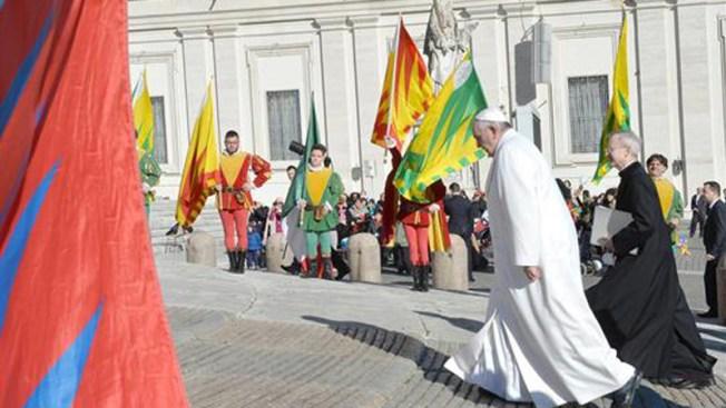 El papa: sociedades sin hijos son deprimidas
