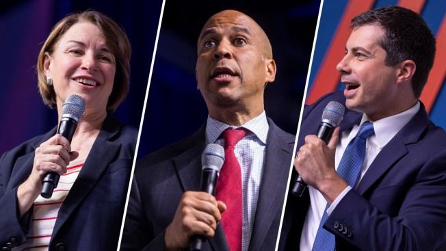 El aporte de los hispanos y las armas, claves de foro político con precandidatos