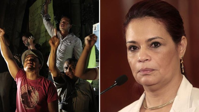 Guatemala: Celebran renuncia de vicepresidenta