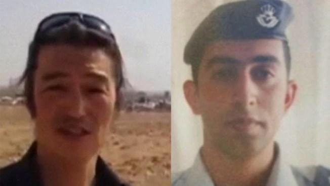 ISIS muestra video de piloto jordano quemado