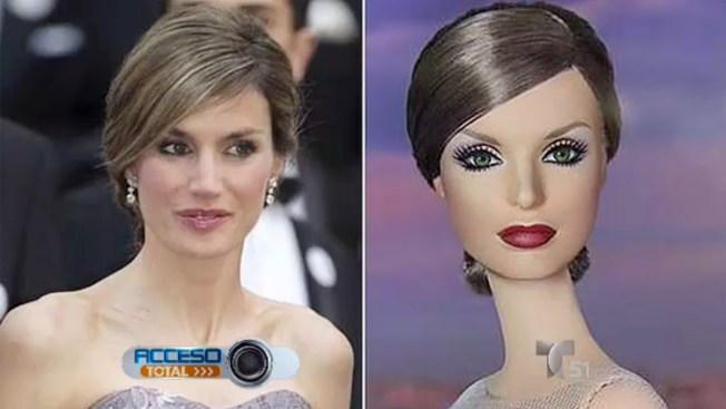 Inmortalizan a reina Letizia con muñeca Barbie