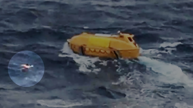 Rescate a náufrago en costa mexicana