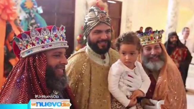 Los reyes magos recorren Puerto Rico