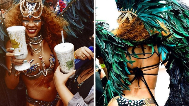 Video: Rihanna enciende carnaval en Barbados
