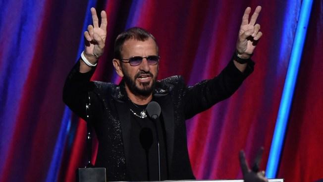 Ringo, el último Beatle en el salón de la fama