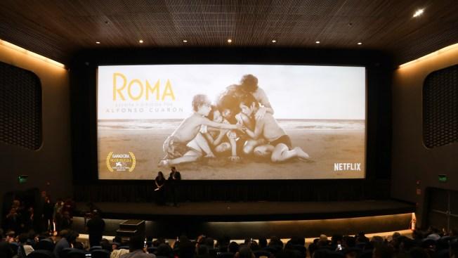 """""""Roma"""" arranca con todo en la temporada de premios"""