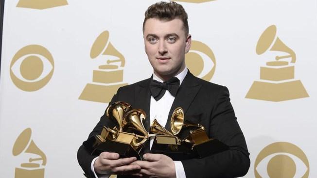 Sam Smith, gran ganador del Grammy
