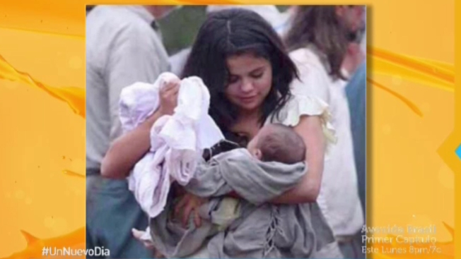 J. Franco y Selena Gómez: ¿bebé o inocentada?