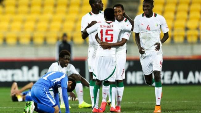 Senegal le pega a Uzbekistán
