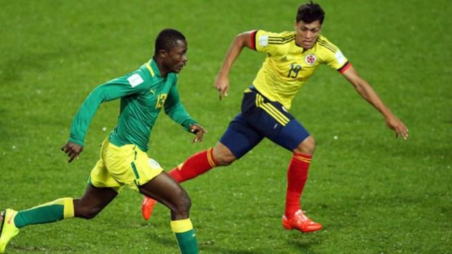 Colombia no logra ganar a una conformista Senegal