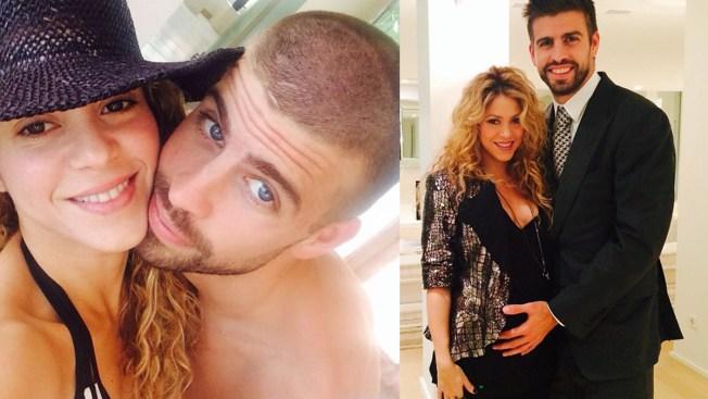 Shakira y Piqué invitan a baby shower virtual