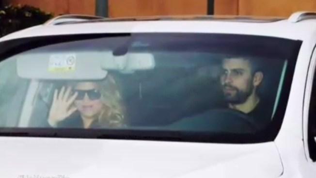 Shakira vuelve a casa con Sasha