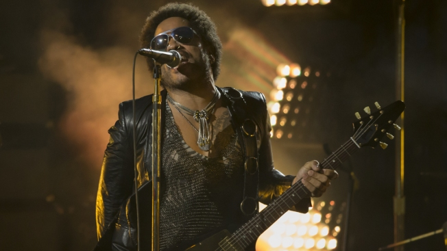 "Lenny Kravitz enseña ""sus partes"" por accidente"