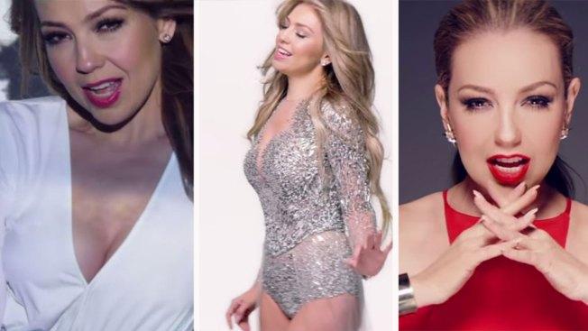 Thalía, despechada en nuevo vídeo