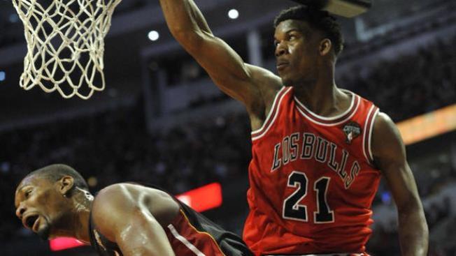 Los Bulls embisten al Heat de Miami