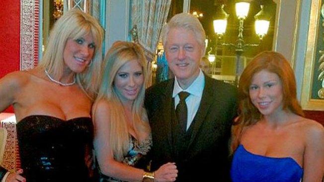 Clinton en foto escandalosa