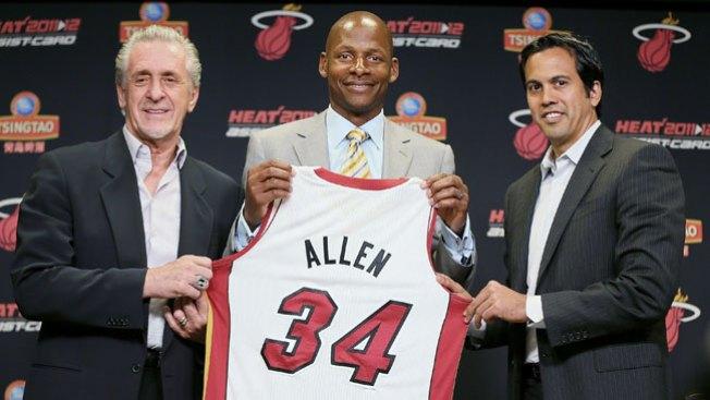 Ray Allen y el Heat, ¡se casaron!