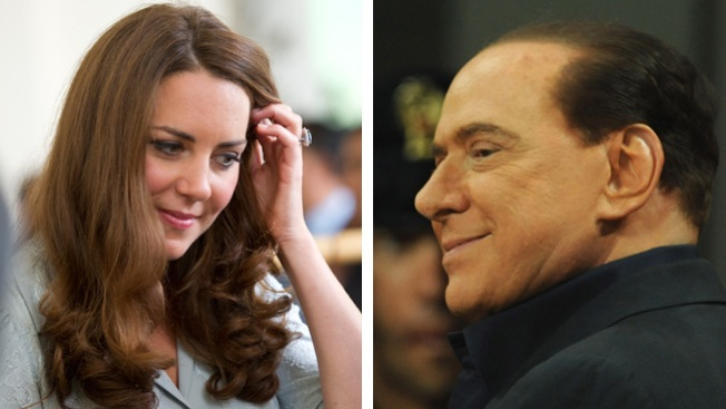 Berlusconi quiere a Kate desnuda