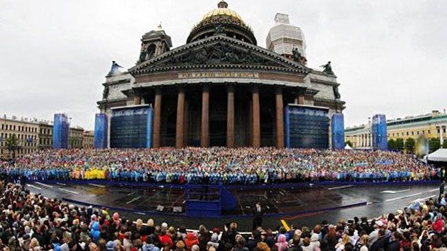 Forman el coro más grande del mundo