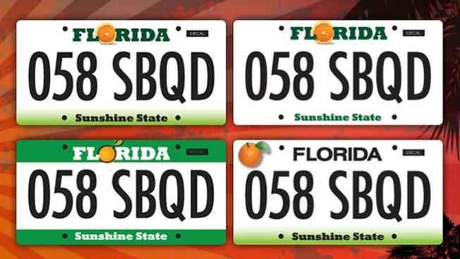 Que Florida escoja sus placas