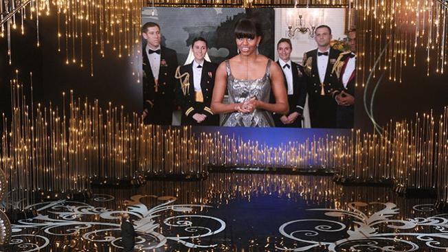 Michelle Obama sorprende en los Oscar