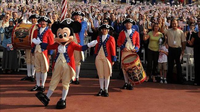 Obama se reúne con Mickey