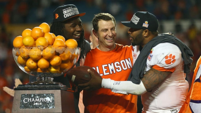 Clemson ganan el Orange Bowl
