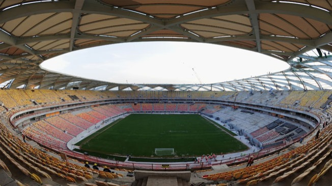 Inauguran estadio mundialista de Manaos