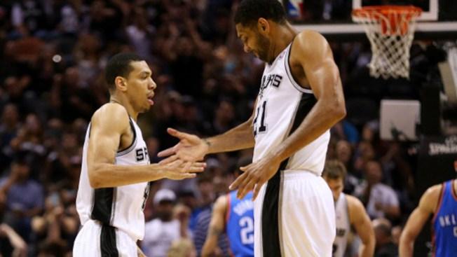 Los Spurs humillan al Thunder 112-77