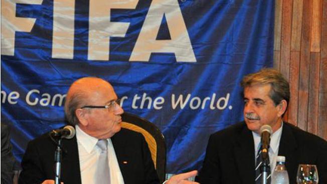 Blatter se reunió con Raúl Castro