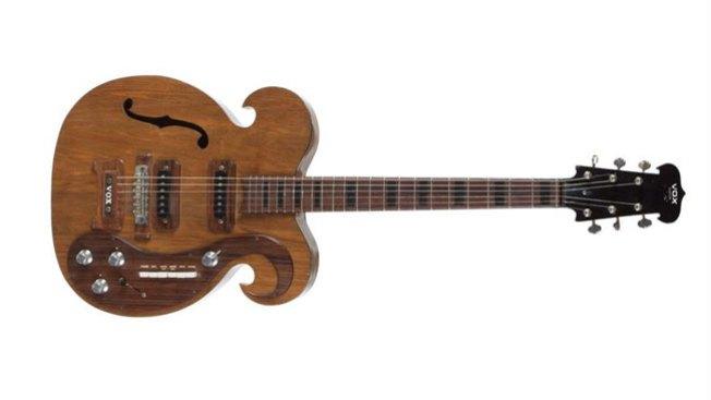 Venden famosa guitarra por $ 400,000
