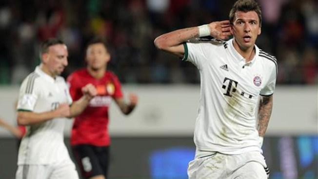 Bayern golea en mundial de clubes