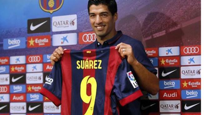 Suárez, listo para retornar ante el Madrid