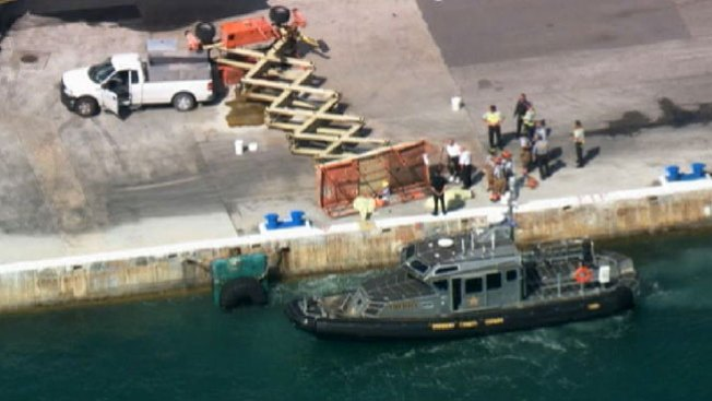 Accidente en Port Everglades, 2 muertos
