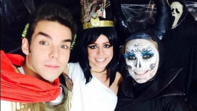 """Actores de """"Los miserables"""" en Halloween"""