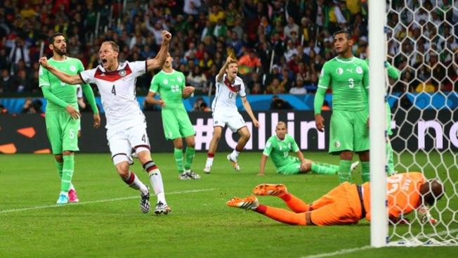 Alemania avanza y Argelia dice adiós
