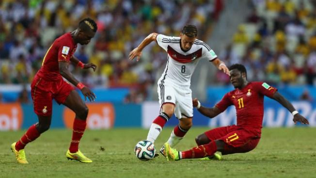 Alemania vs. Ghana: sorpresivo empate