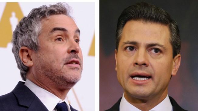 Alfonso Cuarón cuestiona a Peña Nieto