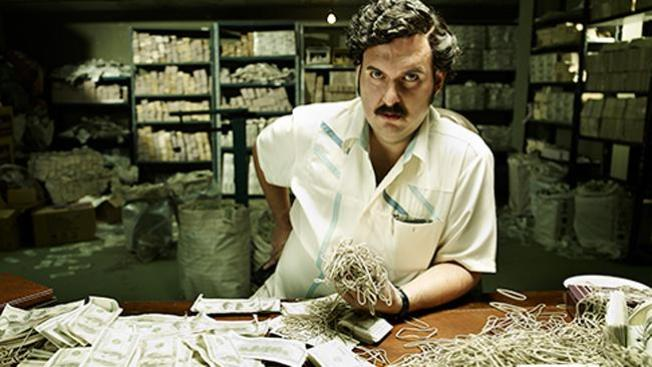Pablo Escobar en la piel de Andrés Parra