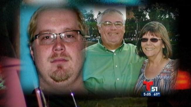Buscan al hijo de una pareja asesinada