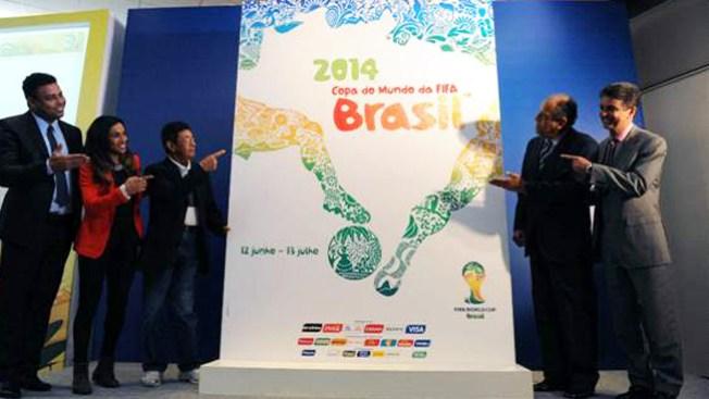 Presentan póster oficial de Brasil 2014