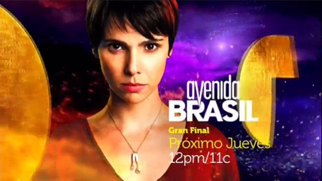 "Este jueves: Gran final de ""Avenida Brasil"""