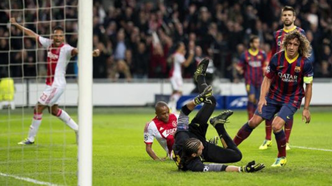 Pierde el Barcelona con el Ajax