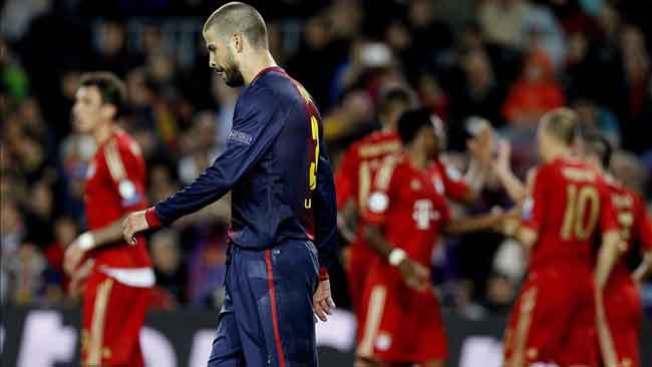 Bayern humilla al Barcelona, de nuevo