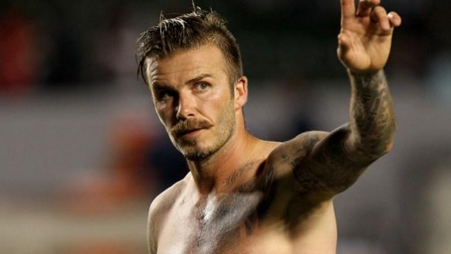 Beckham fuera de la selección