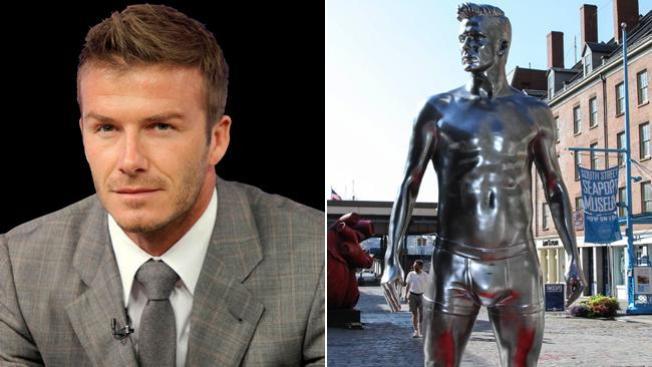 Calzoncillos de Beckham, de gira