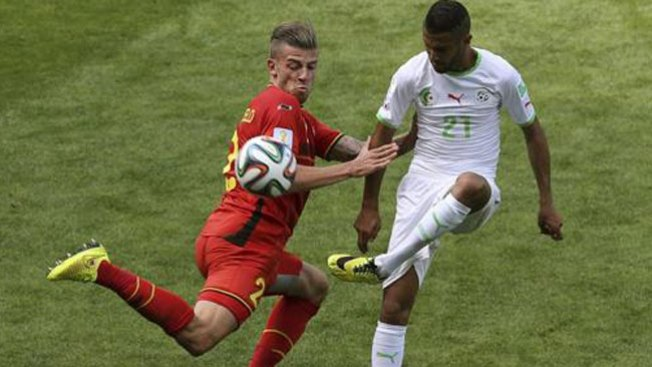 Difícil victoria de Bélgica sobre Argelia