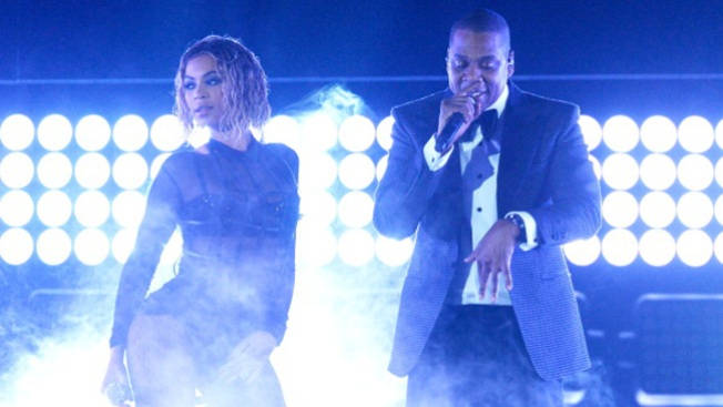 Beyonce y Jay Z, juntos en concierto