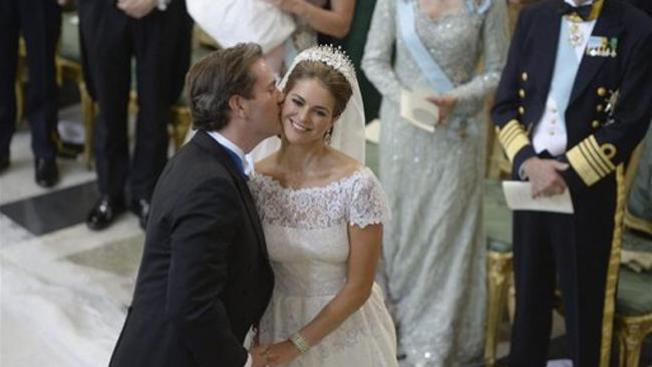 Princesa de Suecia se casa con millonario