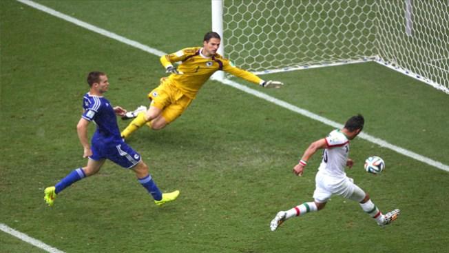 Juego de trámite, Bosnia ganó a Irán 2-1